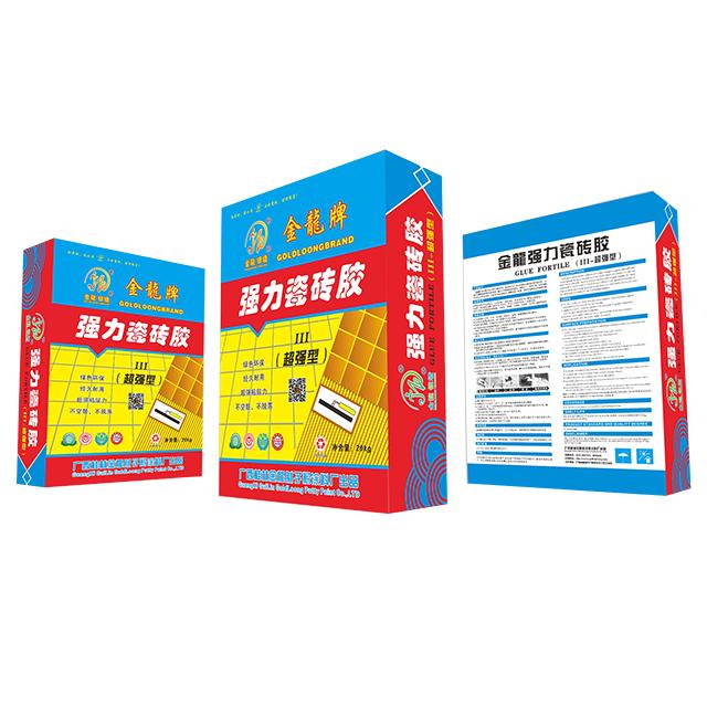 金龙Ⅲ-超强型强力瓷砖胶